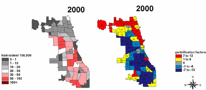 Gentrification Map Chicago